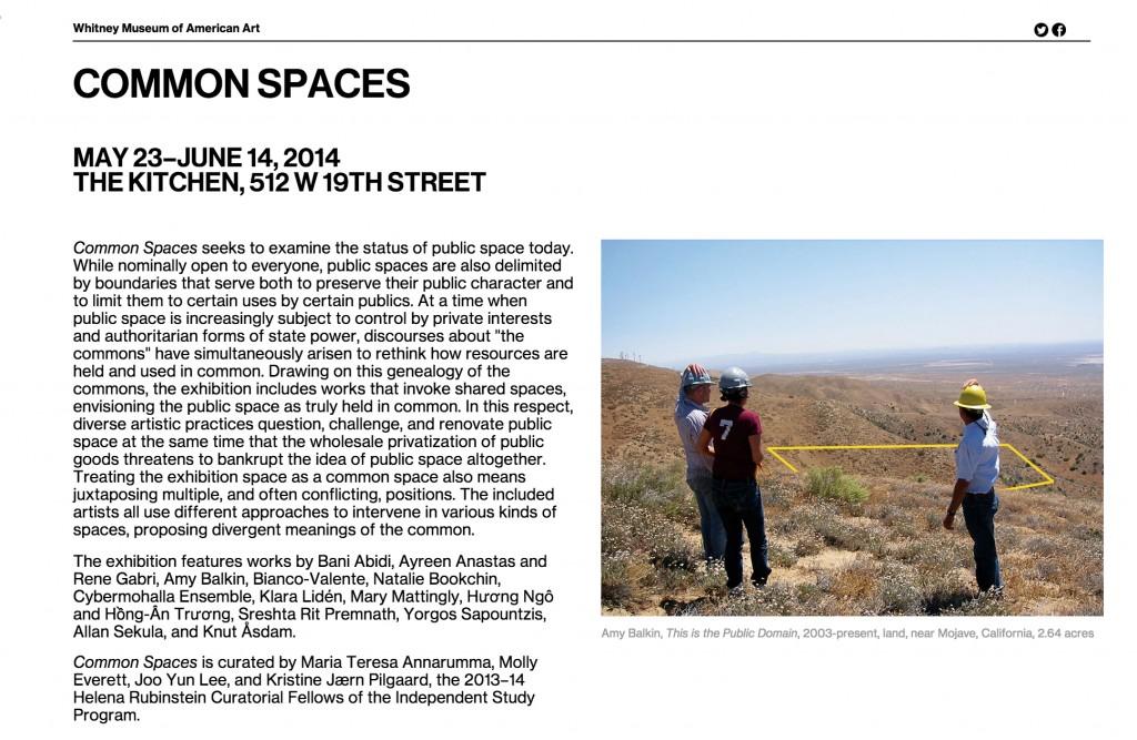 common-spaces