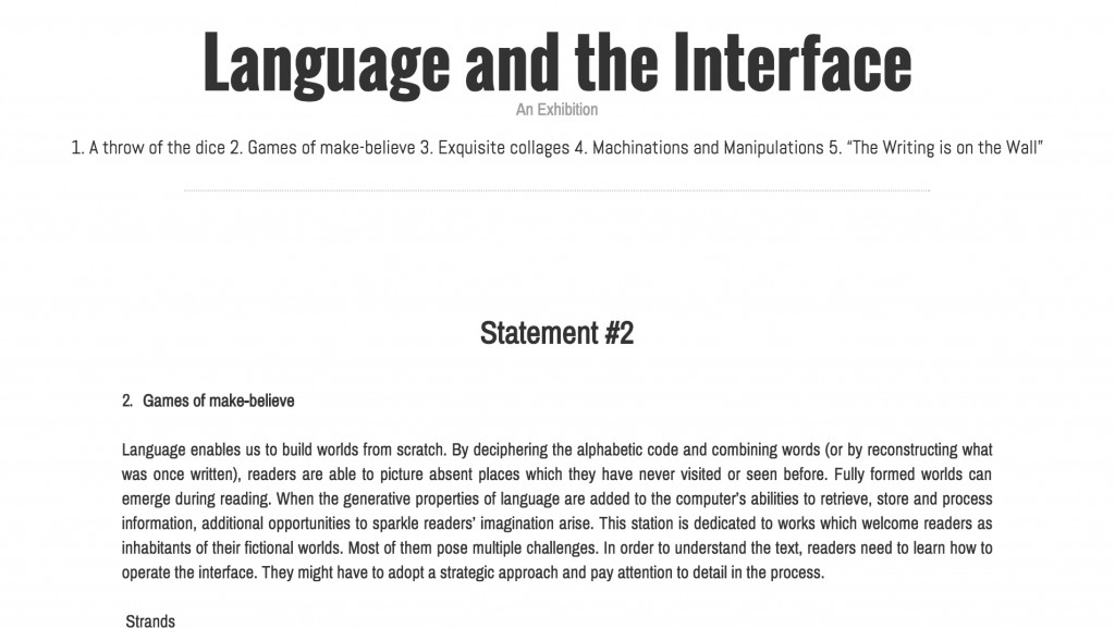 language-interface